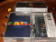 """Simple Minds:""""Real Life""""   K7 Cassette Mc..... New"""