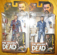 NYCC 2015 WALKING DEAD LEE EVERETT FIGURES EXCLUSIVE BLOODY AND CLEAN VARIANTS