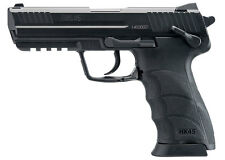 HK45 CO2 BB Pistol Double-Action 20rd Drop-Free Mag - 0.177 cal