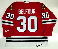 ED BELFOUR ORIGINAL 1997 NIKE REPLICA CHICAGO BLACKHAWKS JERSEY SIZE XXL
