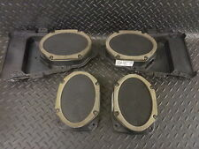 2002 JAGUAR S TYPE 2.5 V6 4DR SET 4 FRONT & REAR DOOR SPEAKERS