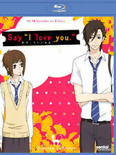 """Say """"I Love You"""": Complete Collection Blu-ray anime  BRAND NEW SEALED"""