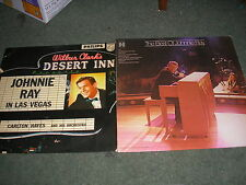 LOT OF 2 LP'S JOHNNIE RAY IN LAS VEGAS UK PHILIPS BBL.7254+BEST OF  HARMONY NM