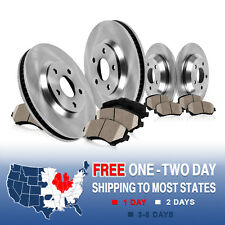 Front and Rear Rotors & Ceramic Pads 2003 2004 2005 LINCOLN AVIATOR