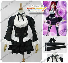 NEW Fairy Tail Erza Scarlet  Cosplay Lolita Dress Costume