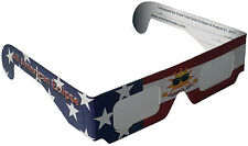 Solar Eclipse Glasses Sun Gazing Filter USA 2017 - (2 PACK) CE Certified