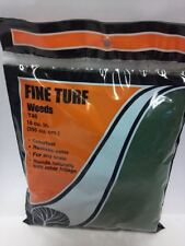 Woodland Scenics Fine Turf Ground Cover Weeds / Dark Green T 46 Model Trains New