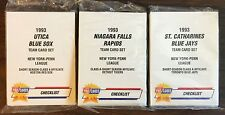 1993 Fleer Pro Cards NIAGARA FALLS -Tigers UNOPEN Minor League Set G7015602