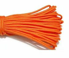 25FT Mil Type III Stand 7 Cores 550 Paracord Parachute Cord Lanyard Orange #5