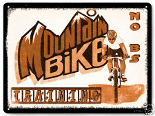 Mountain Bike metal sign BMX trick artist X games vintage style wall decor 160