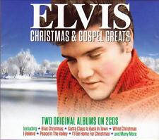 ELVIS PRESLEY - CHRISTMAS & GOSPEL GREATS - 2 ORIGINAL ALBUMS  (NEW SEALED 2CD)