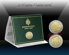 "VATICAN 2 EURO 2005 "" World Youth Day in Cologne "" Commem. coin (CoinCard) UNC"
