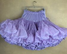 Fantasia Squaredance Full Square-dance 2 Layer 4 Tier Lace Hem Replaced Waist