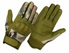 MULTICAM MILITARY AIRSOFT TACTICAL HARD KNUCKLE SHOOTING GLOVES-S,M,L,XL,XXL