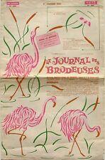 Le Journal des Brodeuses n°885 - 1969 - Ecussons pour serviettes - Nappes -
