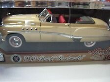 1:18 SCALE MOTORMAX 1949  BUICK ROADMASTER CONV. TIMELESS CLASSICS DIECAST