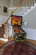 Awesome! Black Knight Pinball 1980 machine by Williams. New CPR Playfield!