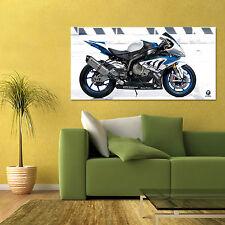 BMW HP4 RACE SPORT BIKE MOTORCYCLE LARGE HD POSTER 24x48in