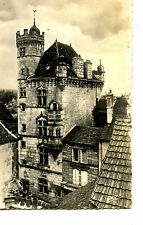 Unusual Hotel-Lexeuil-Les-Bains-France-RPPC-Pequi Vintage Real Photo Postcard
