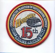 US NAVY McDONNELL HARPOON MISSILE 15th ANNI Anti Ship Attack Squadron patch