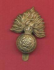 ROYAL FUSILIERS.BRASS BRITISH ARMY CAP BADGE