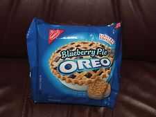 Nabisco OREO BLUEBERRY PIE  Sandwich Cookies LIMITED EDITION  10.7 OZ NEW
