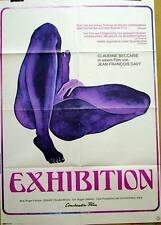 Sexploitation EXHIBITION original Kino Plakat A1 Art Style