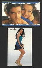 India Bollywood collection of 24 Amisha Patel postcards