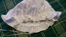 Colonial Williamsburg 18th Century Drawstring Mob Cap Costume Reenactment Dress