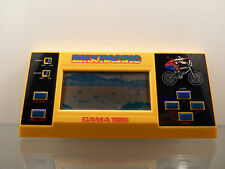 ★ LCD Telespiel Handheld Game Spiel - GAMA TRONIC BMX RACING - 80er - Watch ★