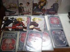Lot of Full Metal Alchemist DVD Cases & Inserts Only Anime NO DISCS