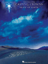 CASTING CROWNS PEACE ON EARTH PIANO VOCAL GUITAR SONG BOOK