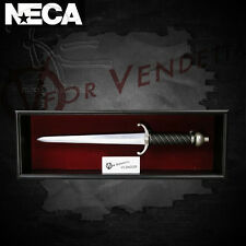 Neca V for Vendetta Dagger Prop Replica In Shadow Box Frame Artist's Proof New