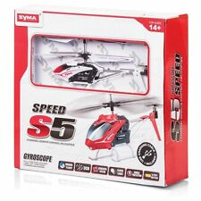 Syma S5 3 Channel Infrared Helicopter Remote Radio Control Indoor Outdoor Fun