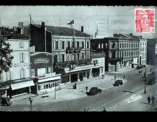 """ALBI (81) BUREAU de POSTE , BARS """"MON BAR"""" & """"CAFE DU COIN"""" animé en 1951"""