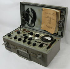 Supreme, Inc. TV-7U Mutual Conductance Tube Tester Military w/ Tags ALL ORIGINAL