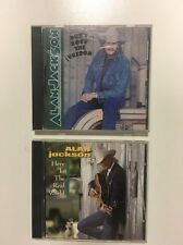 Don't Rock the Jukebox by Alan Jackson (CD, Sep-2000, Arista) & Here In The Real