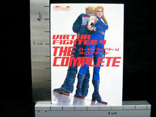 VIRTUA FIGHTER 4 Complete Game Guide Book Japan PS MW *