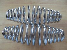 "82-2835 TRIUMPH PRE UNIT 7"" CUSTOM CHOPPER BOBBER CHROME SINGLE SEAT SPRING (PR)"