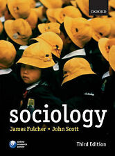Sociology, Scott, John Paperback Book The Cheap Fast Free Post