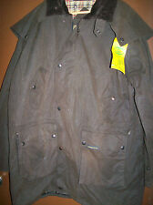 NEW OUTBACK OILSKIN COAT/ JACKET LARGE  BROWN