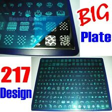 217 Designs Anime Cure BIG Nail Stamping Plate Stamp Transfer Print Template NEW