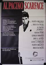 Scarface Filmposter A1 Al Pacino, Steven Bauer, Michelle Pfeiffer, Mastrantonio