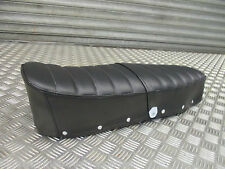 Lambretta s3 GP TV LI SX LI quality seat saddle black ribbed dual seat