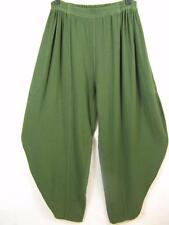 TIENDA HO~AVOCADO GREEN~Moroccan Cotton~BJ3 Harem Pants~LAGONLOOK~Free(M-2X?)