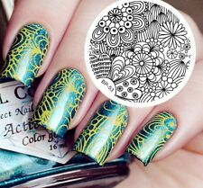 Nail art Stamping plate. BP-53. Born pretty original plate. Stamp manicure gift.