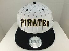 Pittsburgh Pirates MLB Retro Vintage Snapback Hat Cap NEW By NEW ERA