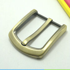 Zinc Alloy Pin Buckle for Men Leather Belt Spare Replacement 40mm Bronze New