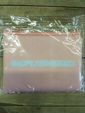 """""""no Filter Needed """" Printed Cosmetic Bag"""