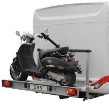 Motorradträger Rollerträger Heckträger Hochgeklappt  Nutzlast 130kg Wohnmobile